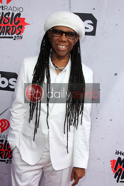 Nile Rodgers<br /> at the iHeart Radio Music Awards 2016 Arrivals, The Forum, Inglewood, CA 04-03-16<br /> David Edwards/DailyCeleb.com 818-249-4998