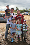 The McCarns and the McKeowns at the Combines for Charity Guinness Book of World Records Attempt...Photo NEWSFILE/Jenny Matthews.(Photo credit should read Jenny Matthews/NEWSFILE)....This Picture has been sent you under the condtions enclosed by:.Newsfile Ltd..The Studio,.Millmount Abbey,.Drogheda,.Co Meath..Ireland..Tel: +353(0)41-9871240.Fax: +353(0)41-9871260.GSM: +353(0)86-2500958.email: pictures@newsfile.ie.www.newsfile.ie.FTP: 193.120.102.198.