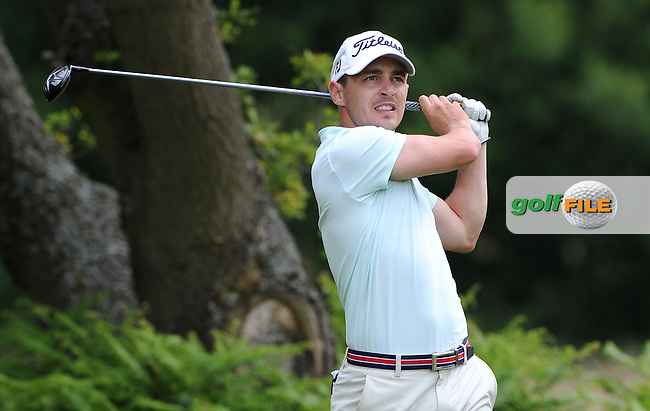 Daniel Holland of Ireland during the Second Round of The Brabazon Trophy 2015 at Notts Golf Club, Nottingham, England. Picture: Golffile | Richard Martin-Roberts<br /> All photo usage must carry mandatory copyright credit (&copy; Golffile | Richard Martin- Roberts)