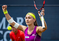 Den Bosch, Netherlands, 16 June, 2018, Tennis, Libema Open, Aleksandra Krunic (SRB) makes it to the final and jubilates<br /> Photo: Henk Koster/tennisimages.com
