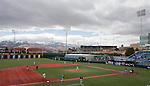 March 30, 2012:   Nevada Wolf Pack  plays the BYU Cougars at Peccole Park on Friday afternoon in Reno, Nevada.