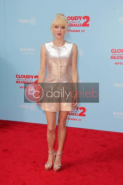 """Anna Faris<br /> at the """"Cloudy With A Chance of Meatballs 2"""" Los Angeles Premiere, Village Theater, Westwood, CA 09-21-13<br /> David Edwards/Dailyceleb.com 818-249-4998"""