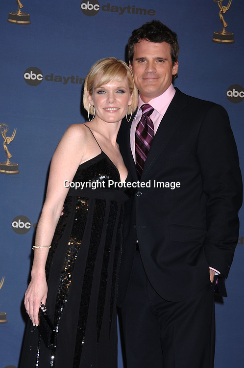 Presenters from As The World Turns Maura West and Michael Park ..in the Press Room  at the 33rd Annual Daytime Emmy Awards on April 28, 2006 at The Kodak Theatre in Hollywood, Californina. ..Robin Platzer, Twin Images