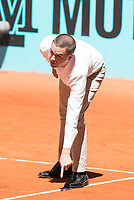 Referee during Mutua Madrid Open Tennis 2017 at Caja Magica in Madrid, May 06, 2017. Spain.<br /> (ALTERPHOTOS/BorjaB.Hojas) /NORTEPHOTO.COM