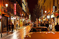 Street scenic, Madrid, Spain
