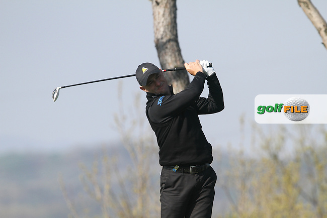 Robert Coles (ENG) on the 11th on Day 1 of the Ballantines Championship 2012 at Blackstone Golf Course, Icheon, Korea...(Photo Jenny Matthews/www.golffile.ie)