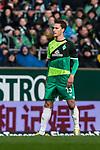 10.02.2019, Weserstadion, Bremen, GER, 1.FBL, Werder Bremen vs FC Augsburg<br /><br />DFL REGULATIONS PROHIBIT ANY USE OF PHOTOGRAPHS AS IMAGE SEQUENCES AND/OR QUASI-VIDEO.<br /><br />im Bild / picture shows<br />Sebastian Langkamp (Werder Bremen #15)<br /><br />Foto © nordphoto / Ewert