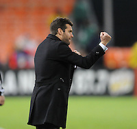 DC United head coach Ben Olsen   DC United defeated The Seattle Sounders 2-1, at RFK Stadium, Wednesday  May 4, 2011.