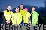 Martina Long  Joan O'Keeffe , Conor Cusack , Launa White and Mary Harris ,first time in the Kerry's Eye Tralee International Marathon, out training on Tuesday night