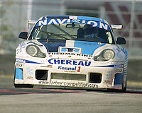 The #70 Porsche 996 GT3R of David Murry, Lloyd Hawkins, Rohan Skea, and John Mowlem races to a 39th place finish in the Rolex 24 at Daytona, Daytona International Speedway, Daytona Beach, FL, February 2000.  (Photo by Brian Cleary/www.bcpix.com)