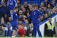 Maurizio Sarri and Mateo Kovacic of Chelsea <br /> 29-09-2018 Premier League <br /> Chelsea - Liverpool<br /> Foto PHC Images / Panoramic / Insidefoto <br /> ITALY ONLY