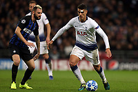 Marcelo Brozovic of Internazionale and Erik Lamela of Tottenham Hotspur during Tottenham Hotspur vs Inter Milan, UEFA Champions League Football at Wembley Stadium on 28th November 2018