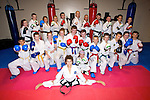 CHAMPION: Julian Dalton, who was winner of Double Gold in takwonda Kickboxing in London last weekend and gives a demontration in Kickboxing to his class mates on saturday Dalton Tak-Wondo Monavelley Tralee.