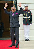 Tariq Fatemi, Minister of State for Foreign Affairs of the Islamic Republic of Pakistan, arrives for the working dinner for the heads of delegations at the Nuclear Security Summit on the South Lawn of the White House in Washington, DC on Thursday, March 31, 2016.<br /> Credit: Ron Sachs / Pool via CNP