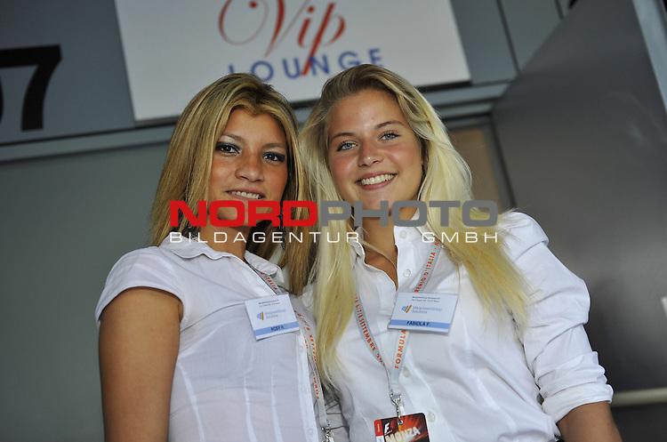 05.-08.09.2011, Autodromo Nationale, Monza, ITA, F1, Grosser Preis von Italien, Monza, im Bild Italian GP Impressions - Girls<br />  Foto &copy; nph / Mathis