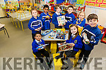 CBS Primary Launch New Lego Club. Pictured front l-r Max Lloyd, Milly Lynch, Nicholas Rusk, Back l-r Luna Jaroscz, Nidhin Joseph Ava Stackpool, Tommy Byrne, Dominika Kowaleska