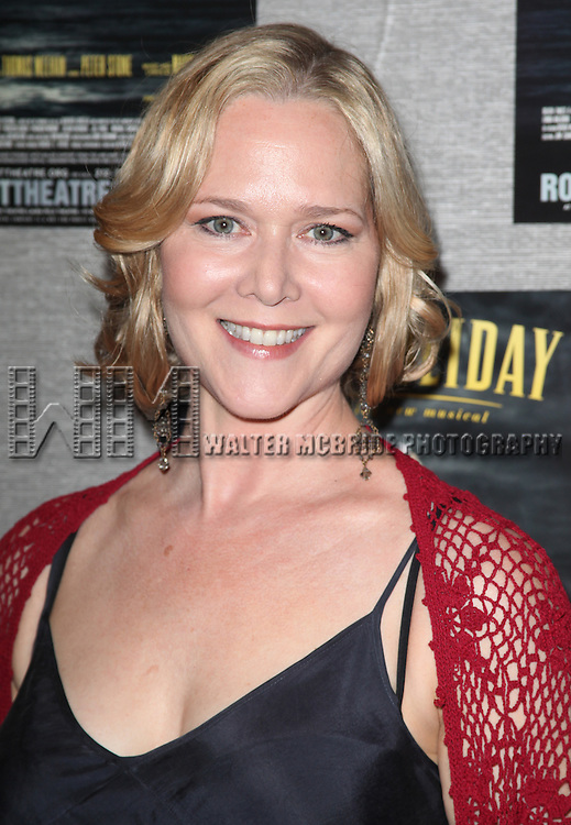 Rebecca Luker.attending the Roundabout Theatre Company's Opening Night After Party for 'Death Takes A Holiday'  in New York City.
