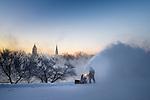 MC 12.19.16 Moreau Seminary Snowblower.JPG by Matt Cashore/University of Notre Dame