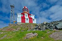 Lighthouse on Bonavista Peninsula. Atlantic Ocean.<br />Cape Bonavista<br />Newfoundland & Labrador<br />Canada