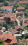 Lin-Pogradec-Albania - August 02, 2004---Partial view of the village of Lin, with its mosque, at Lake Ohrid; region/village of project implementation by GTZ-Wiram-Albania (German Technical Cooperation, Deutsche Gesellschaft fuer Technische Zusammenarbeit (GTZ) GmbH); religion---Photo: Horst Wagner/eup-images