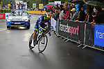 Andrea Pasqualon (ITA) Wanty-Groupe Gobert in action during Stage 1, a 14km individual time trial around Dusseldorf, of the 104th edition of the Tour de France 2017, Dusseldorf, Germany. 1st July 2017.<br /> Picture: Eoin Clarke | Cyclefile<br /> <br /> <br /> All photos usage must carry mandatory copyright credit (&copy; Cyclefile | Eoin Clarke)