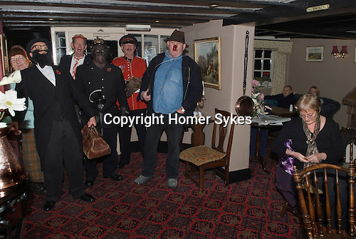 Antrobus Soul Caking Play. Antrobus Cheshire Uk. The opening song. The Smoker Plumley Knutsford Cheshire. 2012.
