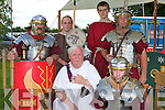 ROMAN'S INVADE: The Roman invader's who were camp at the Ardfert Summer Festival on Sunday front l-r: Michael Gasparro and John McSweeney. Back l-r: Joseph Saleh, Alex Lee, Conor Boyle and Ronan Doherty.   Copyright Kerry's Eye 2008
