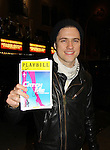 Aaron Tveit Wicked & Hairspray & lead in this musical - great voice) stars in the New Broadway Musical - Catch Me If You Can on March 16, 2011 at the Neil Simon Theatre, New York City, New York. (Saw the musical - great.) The play is in previews right now. (Photo by Sue Coflin/Max Photos)