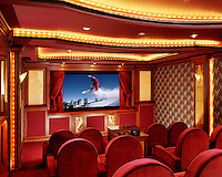 Home Theater With Plush Seating