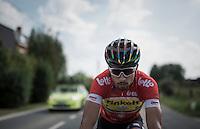 World Champion, European Champion, Slovak Champion & Eneco points classification leader (red jersey) Peter Sagan (SVK/Tinkoff) along the way<br /> <br /> 12th Eneco Tour 2016 (UCI World Tour)<br /> Stage 7: Bornem › Geraardsbergen (198km)