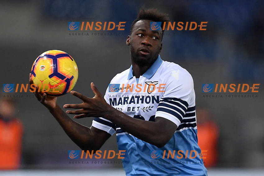 Felipe Caicedo of Lazio reacts during the Serie A 2018/2019 football match between Lazio and Empoli at stadio Olimpico, Roma, February 7, 2019 <br />  Foto Andrea Staccioli / Insidefoto