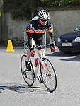 Stamullen Cycle club member Mick Nulty riding in the club's annual road races. Photo: Colin Bell/pressphotos.ie