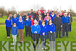 GOLFERS:Members of Ardfert Golf Club whop were at the Capts John Slattery(Capt) and Katie Carroll (Lady Capt) of Ardfert Golf Club drive also inn front centre is Ardfert Lady president Katie O'Carroll.