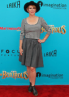 UNIVERSAL CITY, CA, USA - SEPTEMBER 21: Molly Ringwald arrives at the Los Angeles Premiere Of Focus Features' 'The Boxtrolls' held at Universal CityWalk on September 21, 2014 in Universal City, California, United States. (Photo by Celebrity Monitor)