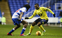 Blackburn Rovers' Amari'i Bell  competing with Reading's Ovie Ejaria  <br /> <br /> Photographer Andrew Kearns/CameraSport<br /> <br /> The EFL Sky Bet Championship - Reading v Blackburn Rovers - Wednesday 13th February 2019 - Madejski Stadium - Reading<br /> <br /> World Copyright © 2019 CameraSport. All rights reserved. 43 Linden Ave. Countesthorpe. Leicester. England. LE8 5PG - Tel: +44 (0) 116 277 4147 - admin@camerasport.com - www.camerasport.com