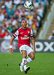 Kieran Gibbs of Arsenal FC in action during the pre-season Asian Tour friendly match against Kitchee FC at the Hong Kong Stadium on July 29, 2012. Photo by Victor Fraile / The Power of Sport Images