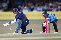 Tom Westley in batting action for Essex during Essex Eagles vs Sussex Sharks, Vitality Blast T20 Cricket at The Cloudfm County Ground on 4th July 2018