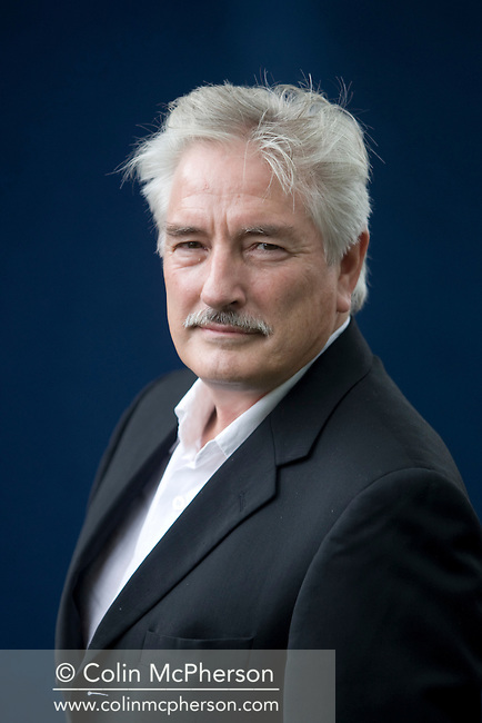 British biographer Martin Stannard, pictured at the Edinburgh International Book Festival where he talked about his book on the author Muriel Spark. The three-week event is the world's biggest literary festival and is held during the annual Edinburgh Festival. The 2009 event featured talks and presentations by more than 500 authors from around the world.