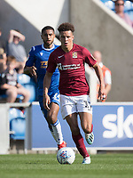 Shaun McWilliams of Northampton Town in action during Colchester United vs Northampton Town, Sky Bet EFL League 2 Football at the JobServe Community Stadium on 24th August 2019