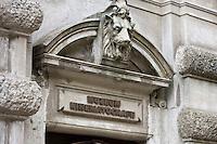Europe/Pologne/Lodz: Façade du Musée d'Art Cinématographique situé dans le Palais de l'industriel Charles Scheibler
