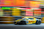 Hing Tak Mak races the Macau GT Cup during the 61st Macau Grand Prix on November 16, 2014 at Macau street circuit in Macau, China. Photo by Aitor Alcalde / Power Sport Images