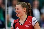04.02.2018, Halle Berg Fidel, Muenster<br />Volleyball, Bundesliga Frauen, Normalrunde, USC MŸnster / Muenster vs. MTV Allianz Stuttgart<br /><br />Nika Daalderop (#9 Stuttgart)<br /><br />  Foto &copy; nordphoto / Kurth
