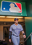 14 April 2018: Colorado Rockies first baseman Ian Desmond emerges from the clubhouse prior to a game against the Washington Nationals at Nationals Park in Washington, DC. The Nationals rallied to defeat the Rockies 6-2 in the 3rd game of their 4-game series. Mandatory Credit: Ed Wolfstein Photo *** RAW (NEF) Image File Available ***