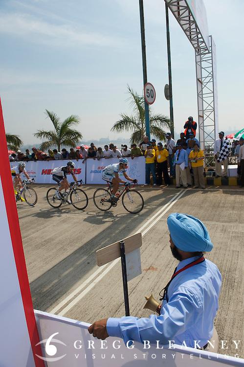 Bell lap - 2010 Tour of Mumbai Cyclothon - India