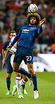 Marouane Fellaini of Manchester United wins the ball during the UEFA Europa League Final match at the Friends Arena, Stockholm. Picture date: May 24th, 2017.Picture credit should read: Matt McNulty/Sportimage