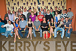 Key to the Door - Mark Horgan from Marian Park, Ballyheigue,seated centre having a ball with friends and family at his 21st birthday bash held in The White Sands Hotel on Friday night................................................................................................................................................................................................................... ............
