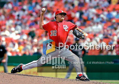 22 July 2007: Washington Nationals closing pitcher Chad Cordero on the mound against the Colorado Rockies at RFK Stadium in Washington, DC. Cordero recorded his 19th save of the season as the Nationals defeated the Rockies 3-0 in the final game of their meeting, taking the series three games to one...Mandatory Photo Credit: Ed Wolfstein Photo