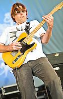 Fleur De Bris playing at Voodoo Festival 2011 in New Orleans, LA.