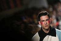LISBOA, PORTUGAL, 07.03.2020 -MODA LISBOA AWAKE - Modelo durante desfile da grife Luis Carvalho em Lisboa, Portugal, nesse sexta 06. (Foto: Bruno de Carvalho/Brazil Photo Press)