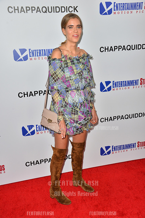 Sif Saga at the premiere for &quot;Chappaquiddick&quot; at the Samuel Goldwyn Theatre, Los Angeles, USA 28 March 2018<br /> Picture: Paul Smith/Featureflash/SilverHub 0208 004 5359 sales@silverhubmedia.com